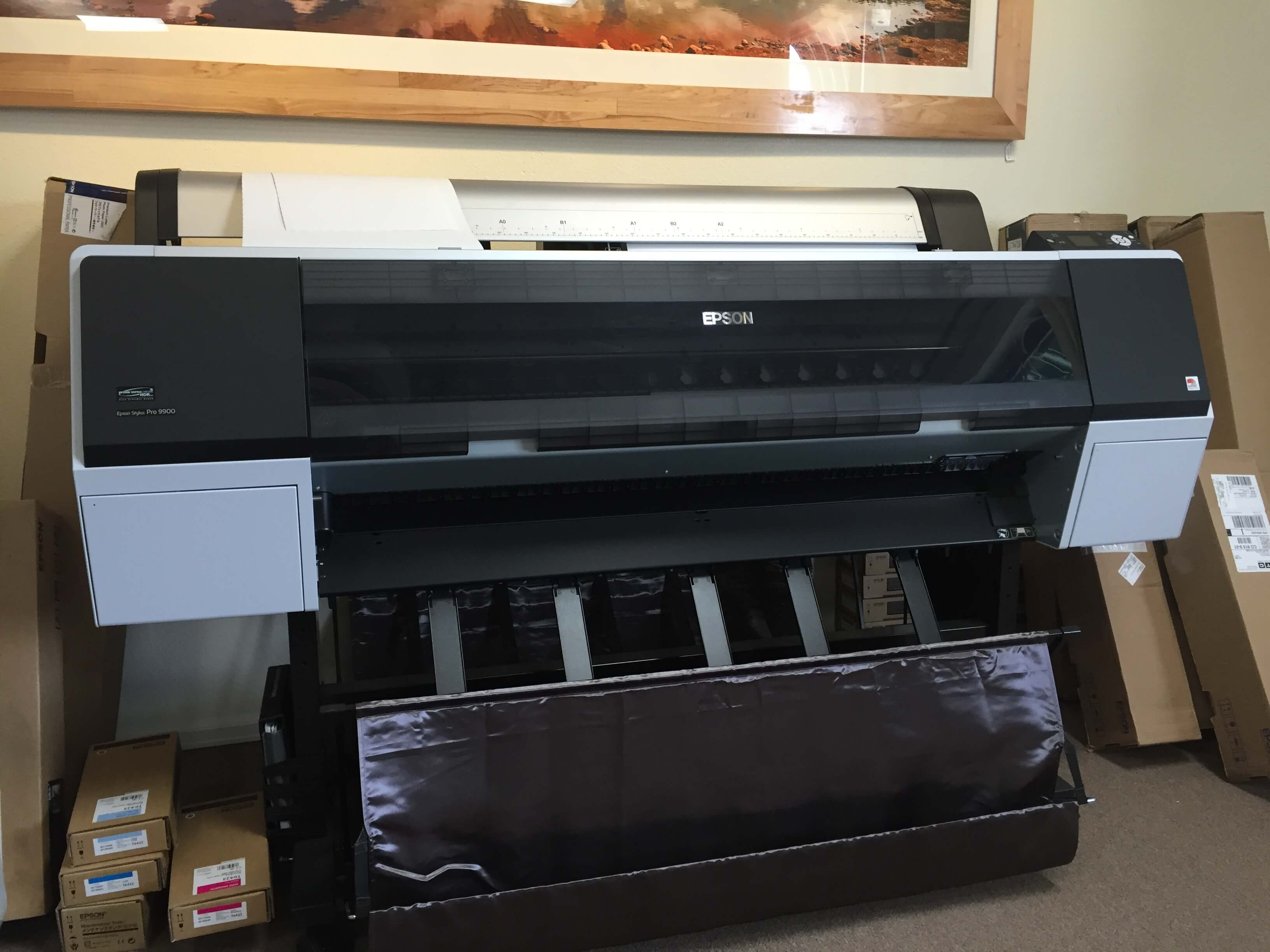 Digital printing, art scanning, photo restoration and mounting.